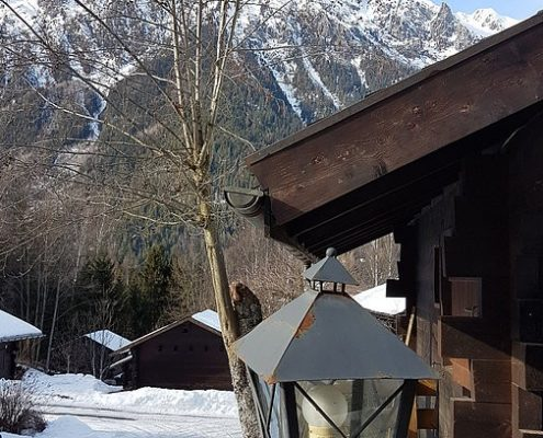 The Chamonix Mont Blanc Massif