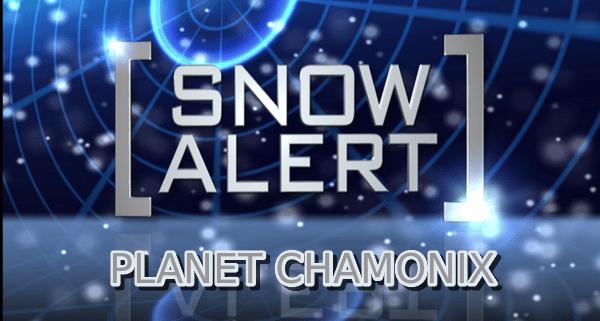 Snow Alert Chamonix