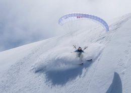 Valentin Delluc Aiguille du Midi Speedriding