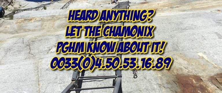 Theft Of Carabiners In Chamonix