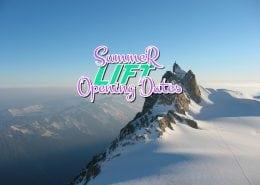 Summer Lift Opening Dates Chamonix