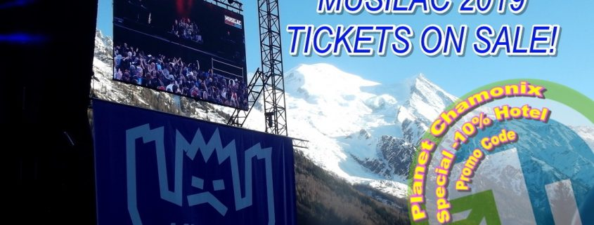 Musilac 2019 Chamonix Mont Blanc