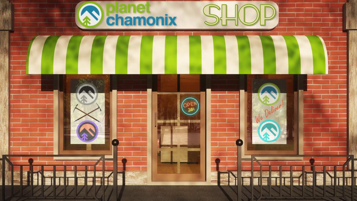 Planet Chamonix Shop
